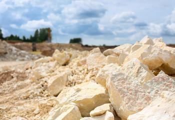 Techno Parc : vente de calcaire à Margaux